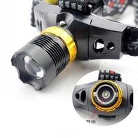 CREE Q5 LED 3 Mode Waterproof Zoomable Headlamp Headlight For Hiking
