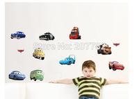 Boy's Bedroom Pixar CARS Wall Stickers Kids Nursery Room Art Decal Decor Sticker