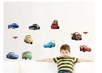 Boy's Bedroom Pixar CARS Wall Stickers Kids Nursery Room Art Decal Decor Sticker