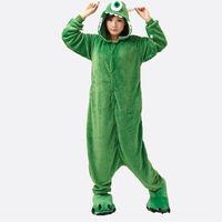 Cyclops Unisex Adults Casual Flannel Hooded Pajamas Cosplay Cartoon Cute Animal Onesies Sleepwear Suit Nightclothes