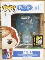 in stock-New!  funko pop frozen 81# ANNA vinyl figure 3.75 inch vinyl figures child toys kid gift free shipping
