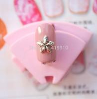 Free Shipping!50pcs Alloy Anchor Nail Decoration DIY Origami Floating Nail Art D2557