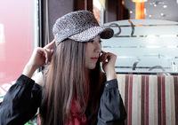 1 piece 2014 new arrivel hot sale Fashion Warm Winter Women's Beret Kintted Hat women ski cap 6 colour