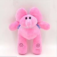 Hot Sale 10pcs/Set 12inch /30cm Elly PocoyoToy Soft Plush Stuffed Figure Baby Toy Doll Flexible Elephant Pink Cute Elephant