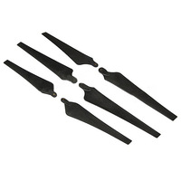 Newest 1652 16*5.2 / 1552 / 1447 / 1340 / 1245 Folding Carbon Nylon 3-Blade Propeller Prop CW/CCW 1-Pair for RC Multicopters