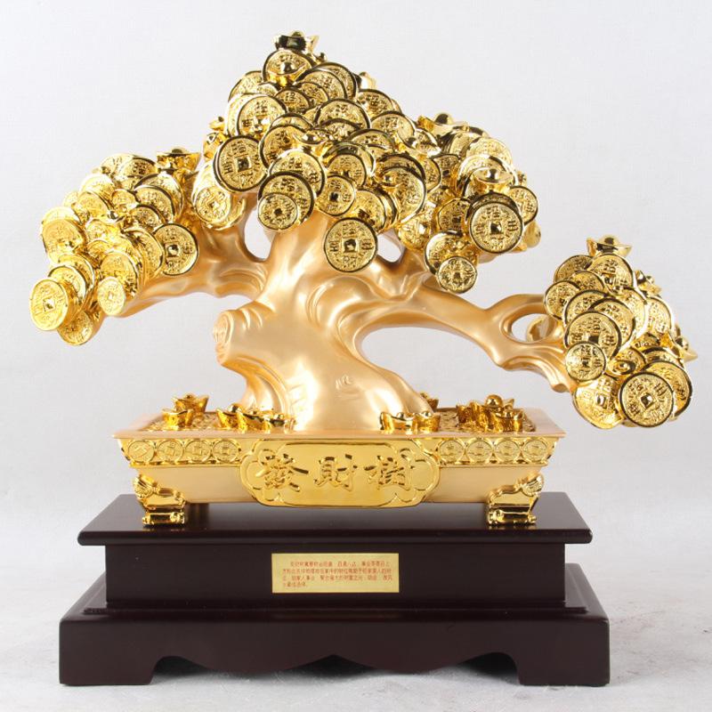 online kaufen gro handel feng shui geldbaum aus china feng. Black Bedroom Furniture Sets. Home Design Ideas