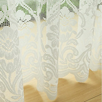 Finished product fashion modern brief balcony high quality lace curtain screens sheer curtains living room