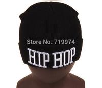 2014 NEW BRAND hot sale winter hat woolen yarn beanies for man Fashion letter caps women hip top balck  beanie FOR winter H112