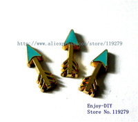 10 pcs Arrow floating charms fit for floating charms locket Free shipping! FC386