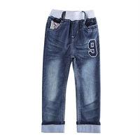 Baby Boy Jeans New Fashion Jeans for Children Boys spring/autumn Kids Pants Baby Roupas Infantis B5278