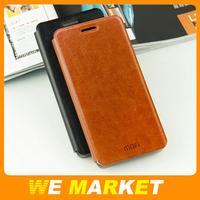 10Pcs/lot New MOFI Crazy Horse Style PU Leather Flip Case For Hauwei G7 Ascend G7 Best Quality 4 Colors Available