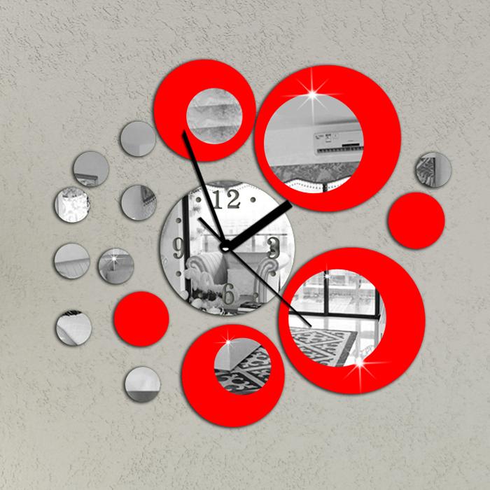 Marvelous horloge murale cuisine rouge 9 gallery of - Pendule de cuisine murale ...