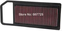 K&N Replacement Air Filter 33-2911 for CITROEN C5 / PEUGEOT 407/ CITROEN C6 Free Shipping