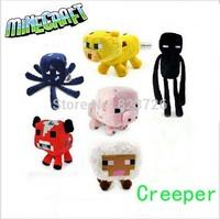 2pcs/lot Free shipping selling minecraft toys plush doll Children Zombie Pigman & Skeleton GG-701057