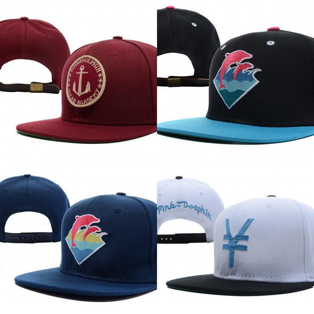 Pink dolphin swag brand snapback caps hip hop cap baseball hat hats for men women snapbacks baseball-caps gorras bone toca rap(China (Mainland))