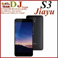 "Origina JIAYU S3 MT6752 Octa Core 1.7Ghz 3G RAM 16G ROM 5.5"" 1920*1080 Gorila Glass 3 4G Dual sim Smart Android 4.4 Mobile phone"