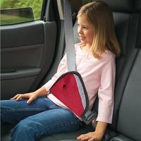 Car Child Safety Cover Shoulder Harness Strap Adjuster Kids Seat Belt Clip Red Child Resistant Safety Belt Protect FREE SHIPPING
