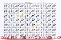 Freeshipping!12MM CREE XPE/XPG/XTE/3535 LED PCB/ Aluminum base plate/ Circuit board/PCB LED board 100pcs/lot