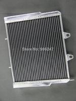 40MM core Aluminum Radiator ATV For Polaris RZR 800 07-11 2007-2011 2 ROW
