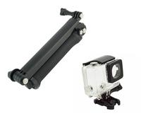 F10181-A Adjustable 3-Way Handheld Grip Tripod Mount Waterproof Protective Case for Selfie Camera GoPro Hero 3+ Plus