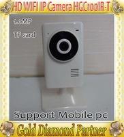 HD 720P WiFi IP HD Camera H.264 1.0MP P2P Remote monitoring Micro SD IP Camera Car DVR Retail box QR Code Free shipping