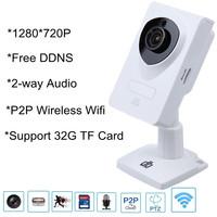DB Power Wireless Wifi Mini IP Camera 1280*720P H.264 P2P Security HD Network CCTV Camera IR Night Vision with 2 Way Audio