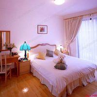 European modern sky blue lamp Tiffany 8 inch simple bedroom bedside creative children room lighting lamp