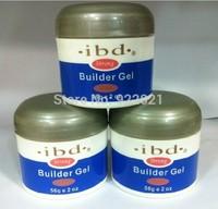 Free shipping !! High Quality  and best price IBD uv gel, IBD builder gel. nail gel 56 g/2 oz