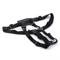 Harness Adjustable Chest Strap Mount belt for GoPro Hero 1 2 3 4 hero3+,hero4 Camera Suptig DV Skiing,cycling,rowing sport 100pc