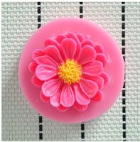 100pcs/lot Free shipping 2014 NWE flowers chocolate silicone mold,Fondant Cake Decorating Tools,Silicone Cake Mold