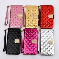 For iPhone 6 Case Fashion Lady Handbag 4.7 inch Book Card Purse Wallet Stand For iPhone6 Smart Cover Girl Gift