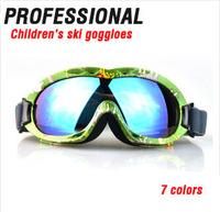 New Children Kids Sports Glasses Ski Goggles Outdoor  Snowboard Skate Goggles Glasses free shipping