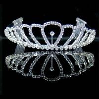 Fashion Bridal Tiara Wedding Hair Crown, Crown Wedding Crown Bride Crown Tiaras