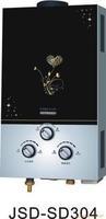 Castour special wholesale glass surface gas water heater  10L
