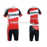 Ropa Ciclismo!2015 GIANT Cycling Jersey Short Sleeve bib Shorts Kits Bike Wear MTB Clothing pants!!