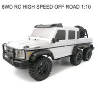 2.4GHZ 6WD Mercedes-Benz AMG G63 simulation large sport utility vehicle climbing car remote control car models