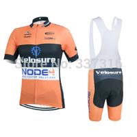 2015 Cycling Clothing NODE4 Short Sleeve Cycling Jersey bib Kit bicicleta bib Shorts Tight Men Ropa Ciclismo maillot Bike Wear