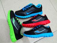 The new men's fashion men shoe surface sneakers running shoes running shoes lightweight men's casual shoes