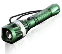 2014 brand new Freeshipping green 1000LM UltraFire CREE Q5 LED Rechargeable Flashlight