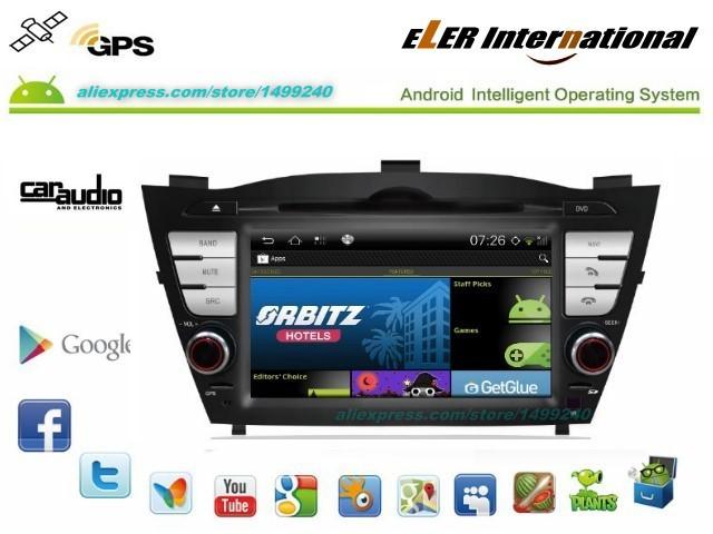 For Hyundai Tucson 2010~2013 - Android Radio Stereo TV DVD Player GPS Navigation S150 Andriod System / Free Satellite NAVI(China (Mainland))