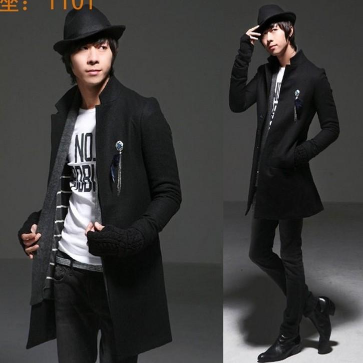 Мужской тренч Fashion trench man 2015 men trench coat