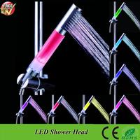 RFT-9812C LED Shower Head,Lighting Bathroom Accessoris With Romantic 7 Changing Colors led bath shower