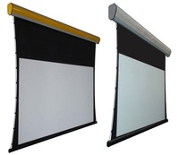 """free shipping hot sale  100""""  tab tension electric screen with remote control"""