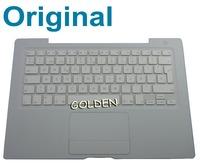 "13"" For Apple Macbook A1181 A1185 MB404 MA701 Trackpad Topcase Palmrest Keyboard SP Spanish Teclado"