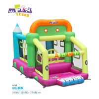 Inflatable trampoline small toy bouncer car trampoline