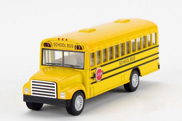 Free shipping American school bus alloy simulation model car toys(China (Mainland))