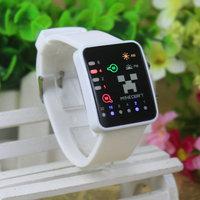 New hot  LED watch digital cartoon  wrist watches for men and women smartwatch Touch Screen clock men's and women's cheep watch
