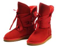 2014 newest Women's snow boots sheepskin Short boots 5828 boots
