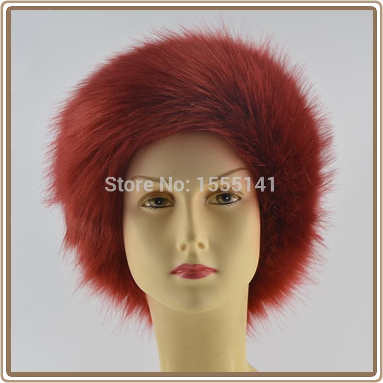 Free Shipping ! 2014 Fashion Fake Fur Headband,Elastic headband, Fake Fur Hair Bands,Headband,Winter cap. Winter hat.(China (Mainland))