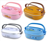 Stainless Steel Thermal Insulated Bento Lunch Box for Kids Portable Sushi Lunchbox Food Container Kitchen Accessories Tableware